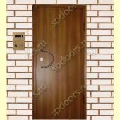 Входная металлическая дверь МДФ ПВХ SP Гладкая